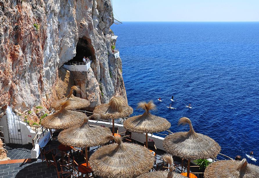 Hotel Playa Azul, Cala'n Porter, Menorca, Cova Xoroi