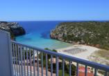 Hotel Playa Azul, Cala'n Porter, Menorca, DZ Meerblick