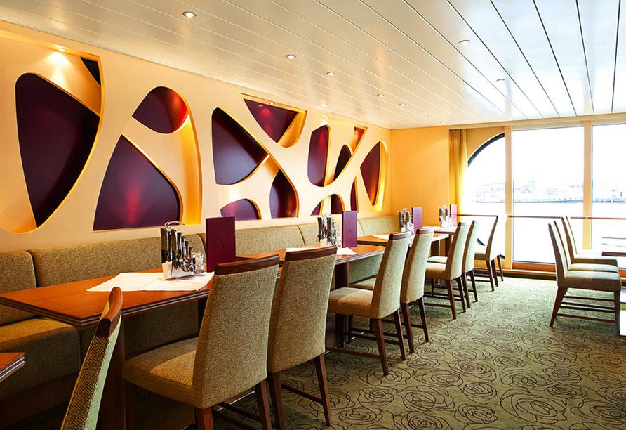 A-ROSA, Restaurant SILVA
