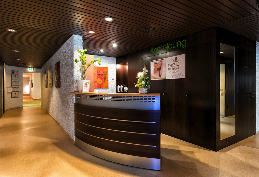 Best Western Premier Parkhotel Bad Mergentheim, Physiotherapie