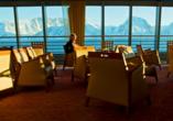MS Midnatsol, Panorama-Lounge