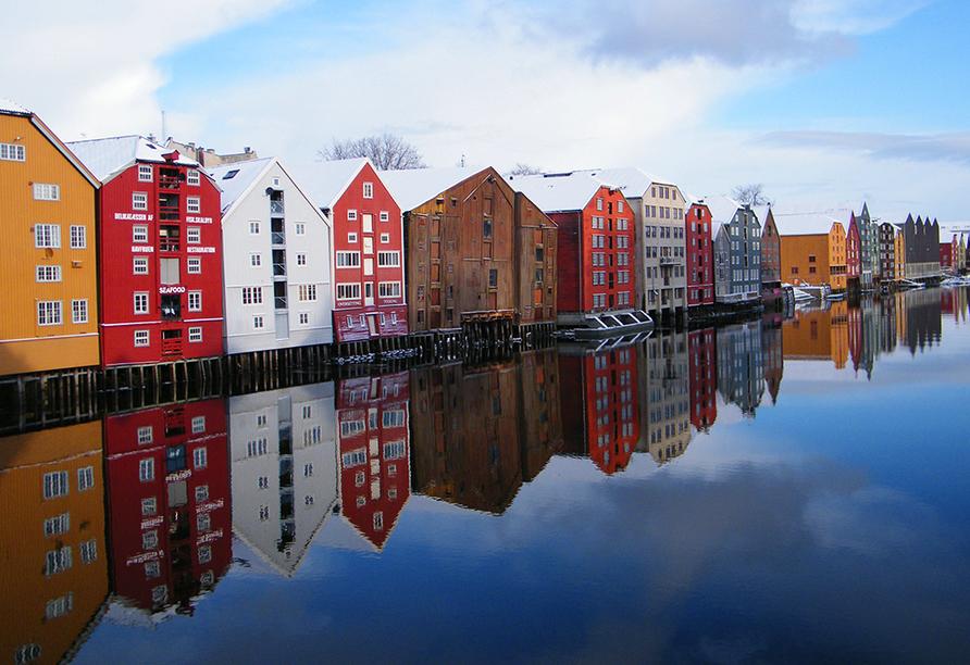 MS Midnatsol, Trondheim