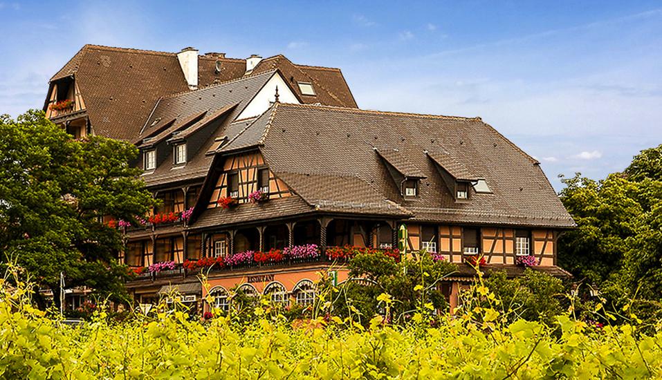 Hotel Munsch, Außenansicht
