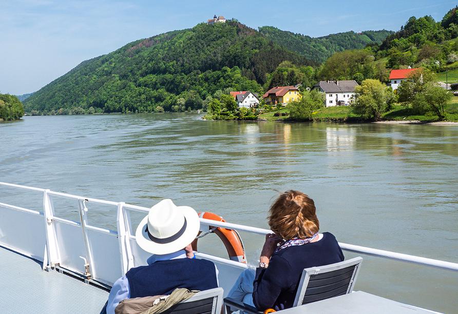 DCS Amethyst, Donau