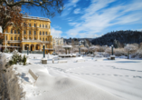 Hotel Flora, Marienbad, Tschechien, Marienbad im Winter