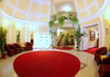 Hotel Flora, Marienbad, Tschechien, Lobby