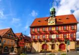 Vitalhotel Zum Löwen in Bad Staffelstein, Rathaus von Bad Staffelstein