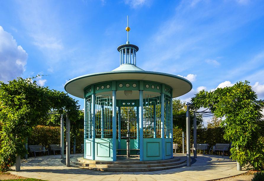 Vitalhotel Zum Löwen in Bad Staffelstein, Kurpark