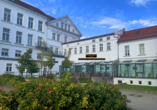 Parkhotel Putbus Rügen, Hoteleingang