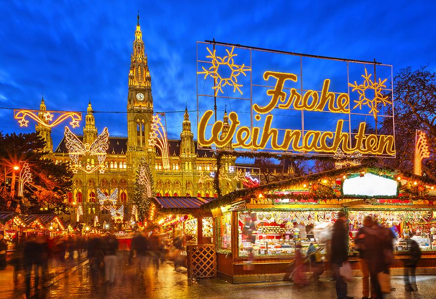 DCS Amethyst, Weihnachtsmarkt Wien