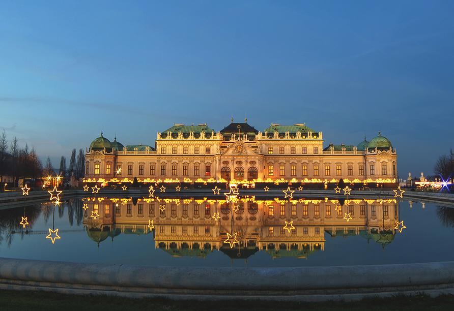 DCS Amethyst, Schloss Belvedere in Wien