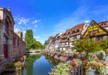 Als Hotel in Ottmarsheim im Elsass, Colmar