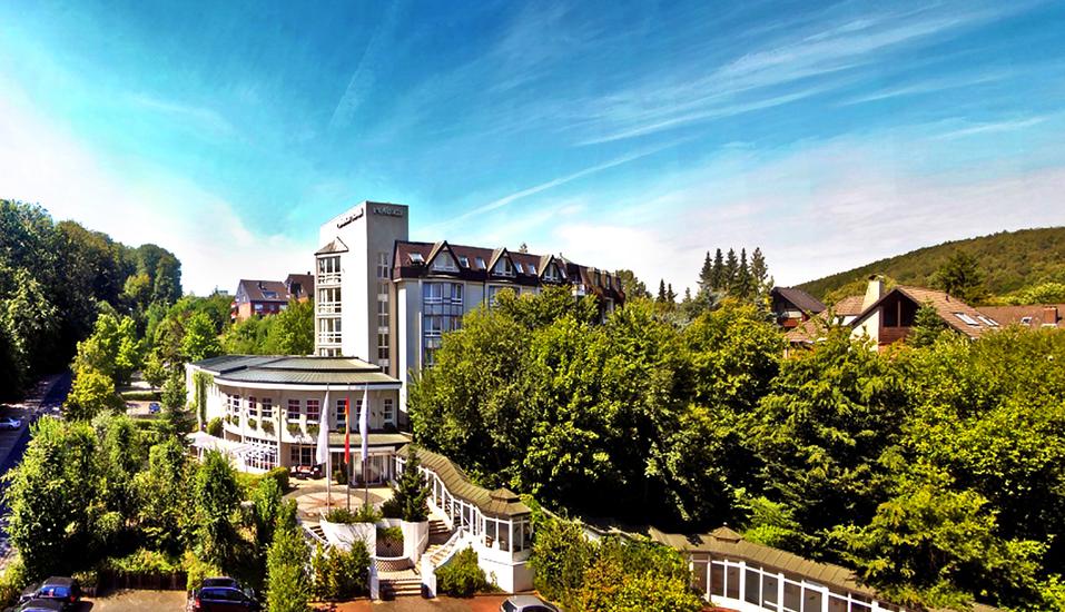 Relexa Hotel Bad Salzdetfurth bei Hildesheim in Niedersachsen, Außenansicht