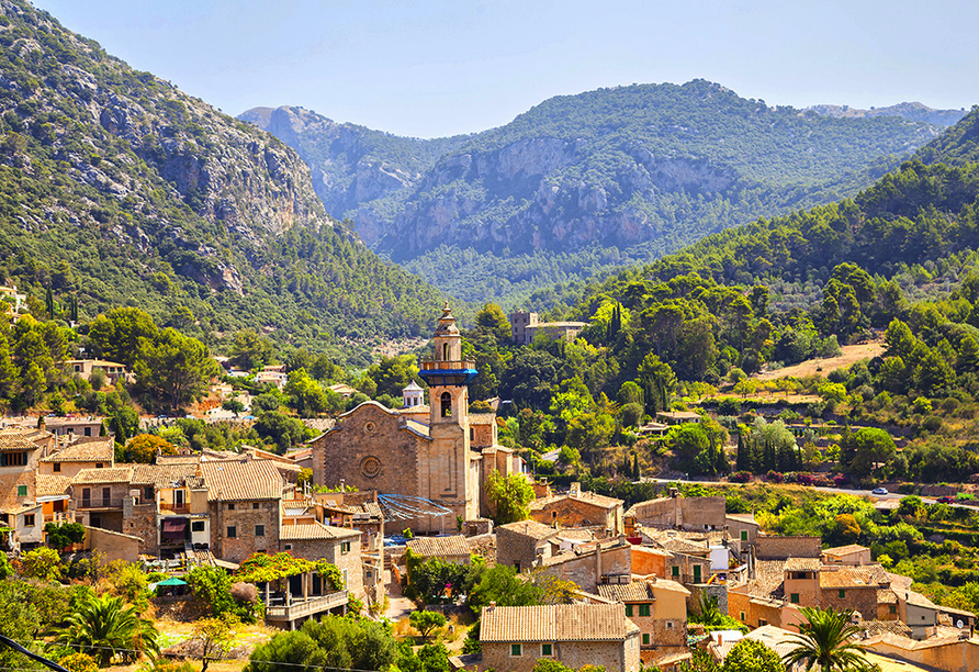 Frühling auf Mallorca, Valldemossa