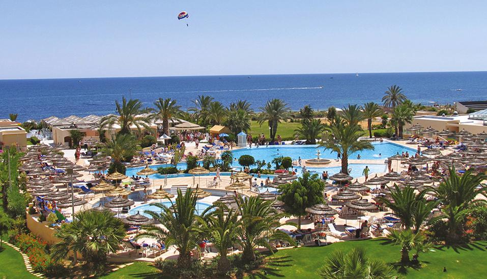Hotel LTI Bellevue Park Sousse, Pollandschaft
