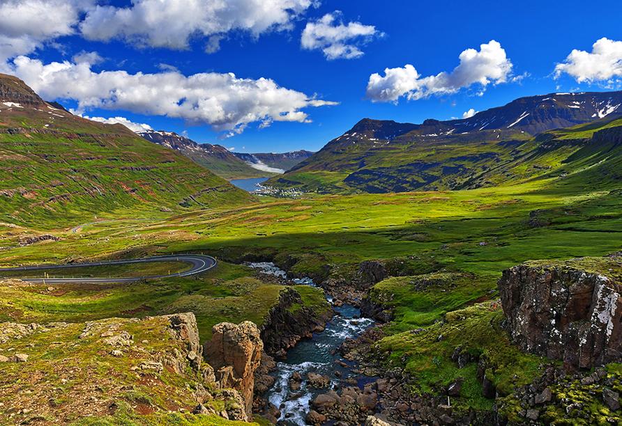 Costa Favolosa, Seyðisfjörður