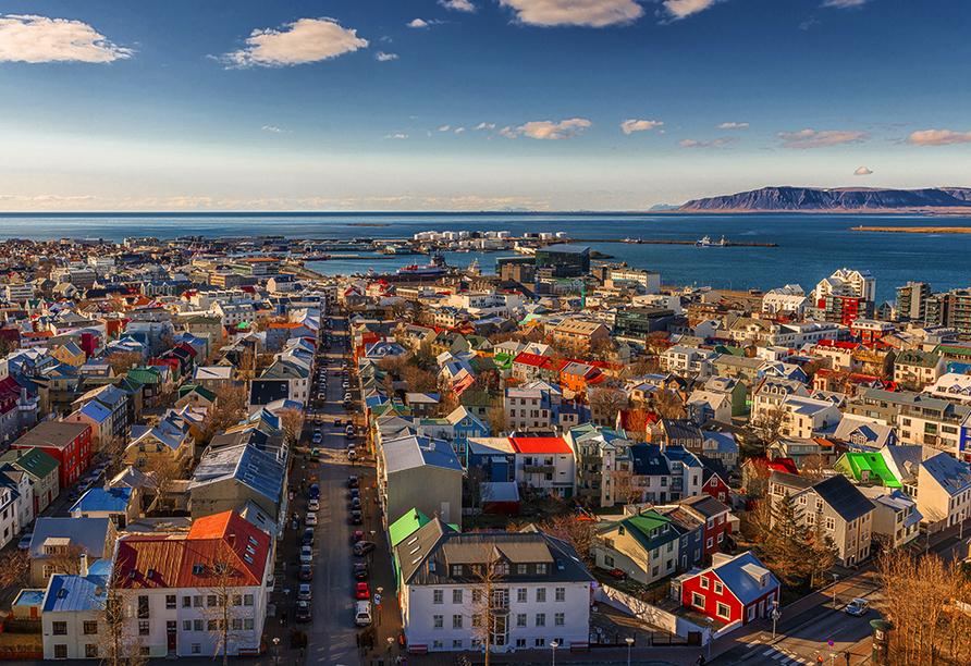 Costa Favolosa, Reykjavík