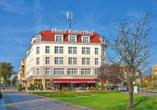 Hotel Kaiserhof in Fürstenwalde, Außenansicht