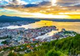 Costa Favolosa, Bergen