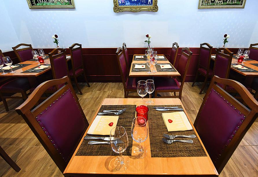 Hotel Dufour, Biel-Bienne, Schweiz, Restaurant Maharaja