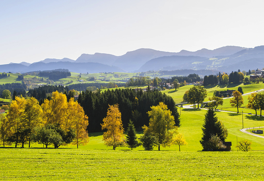 AllgäuHotel Hofgut Kürnach in Wiggensbach im Allgäu, Allgäu