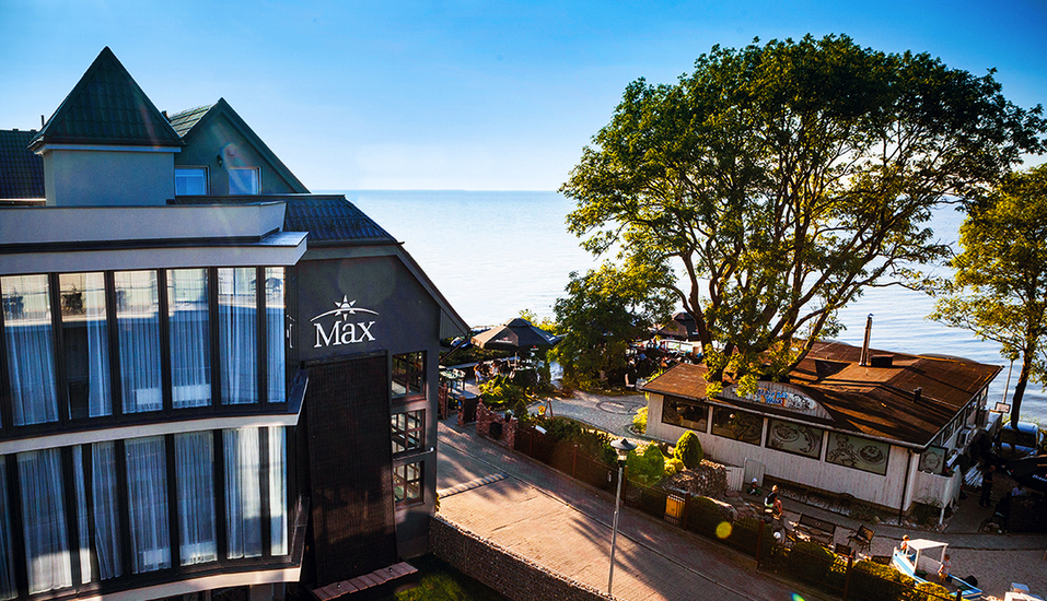 Max Resort in Henkenhagen, Außenansicht