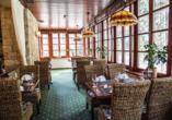 Golf Hotel Morris in Marienbad in Tschechien, Restaurant