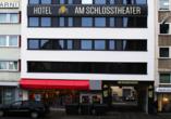 Hotel am Schlosstheater, Außenansicht