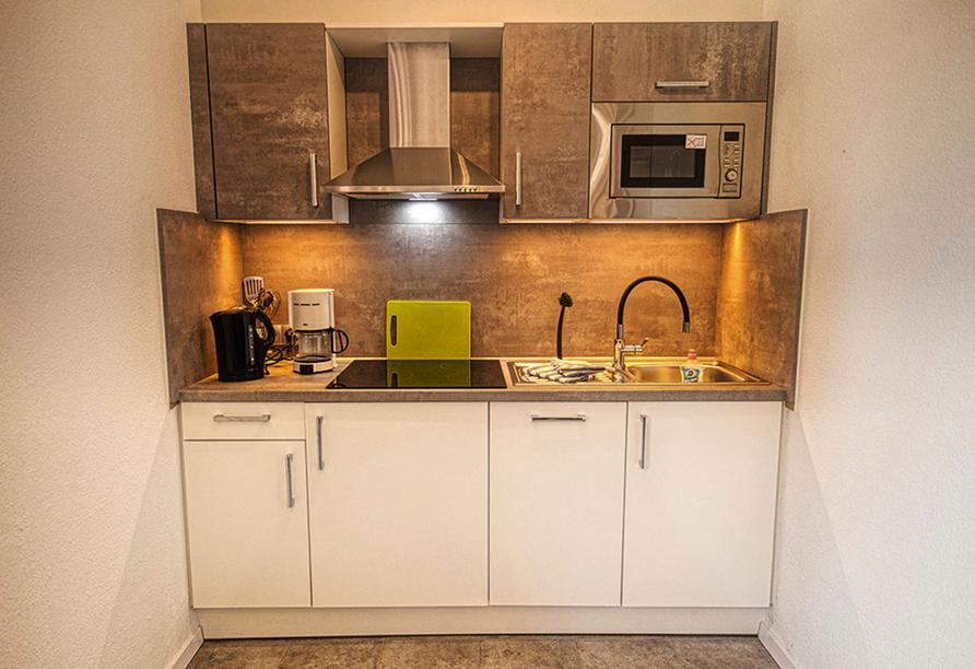 Ferienhaus Watt n Urlaub, Beispiel Küchenzeile