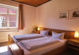 Ferienhaus Watt n Urlaub, Beispiel Schlafzimmer