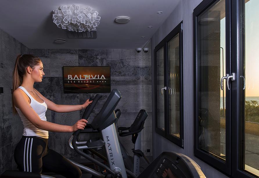 Baltivia Sea Resort in Mielno, Polnische Ostsee, Polen, Fitnessraum