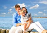 Baltivia Sea Resort in Mielno, Polnische Ostsee, Polen, Familie