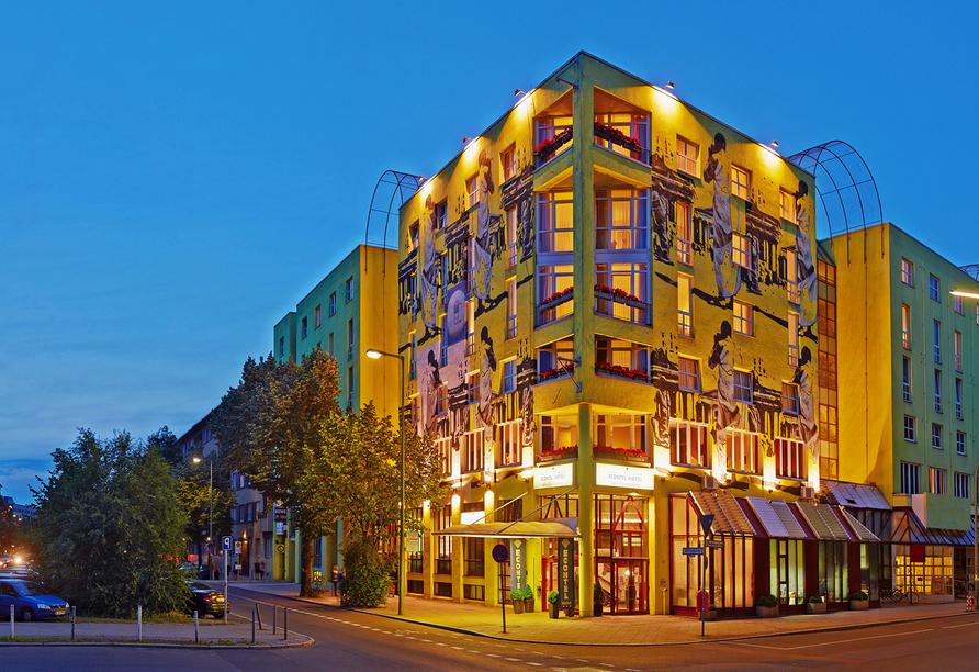 Hotel AMBER ECONTEL Berlin-Charlottenburg, Außenansicht