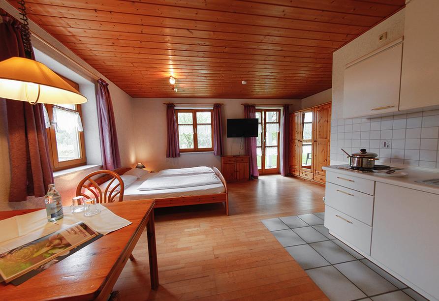 Panoramahotel Schwarzeck in Lohberg, Doppelzimmer