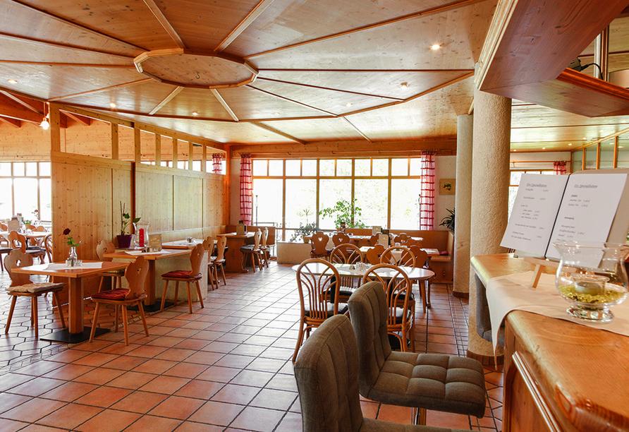 Panoramahotel Schwarzeck in Lohberg, Restaurant