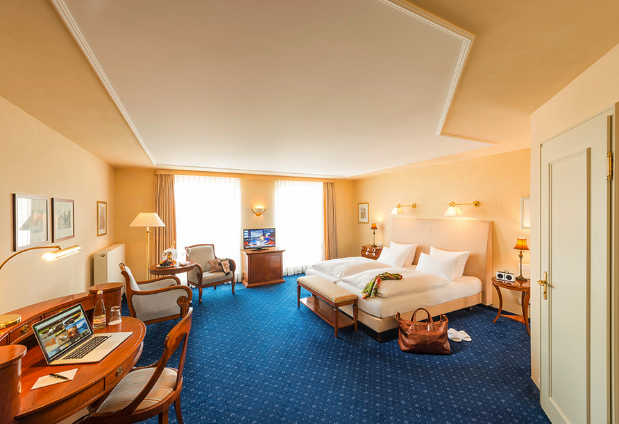 Hotel-Restaurant Erbprinz in Ettlingen, Beispiel Doppelzimmer Komfort