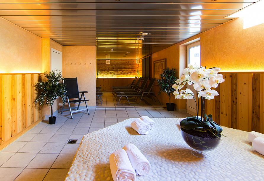 Turmhotel Victoria in Davos, Schweiz, Wellnessbereich