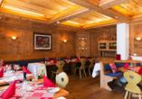 Turmhotel Victoria in Davos, Schweiz, Restaurant