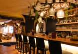 Parkhotel Luise in Bad Herrenalb, Bar-Theke
