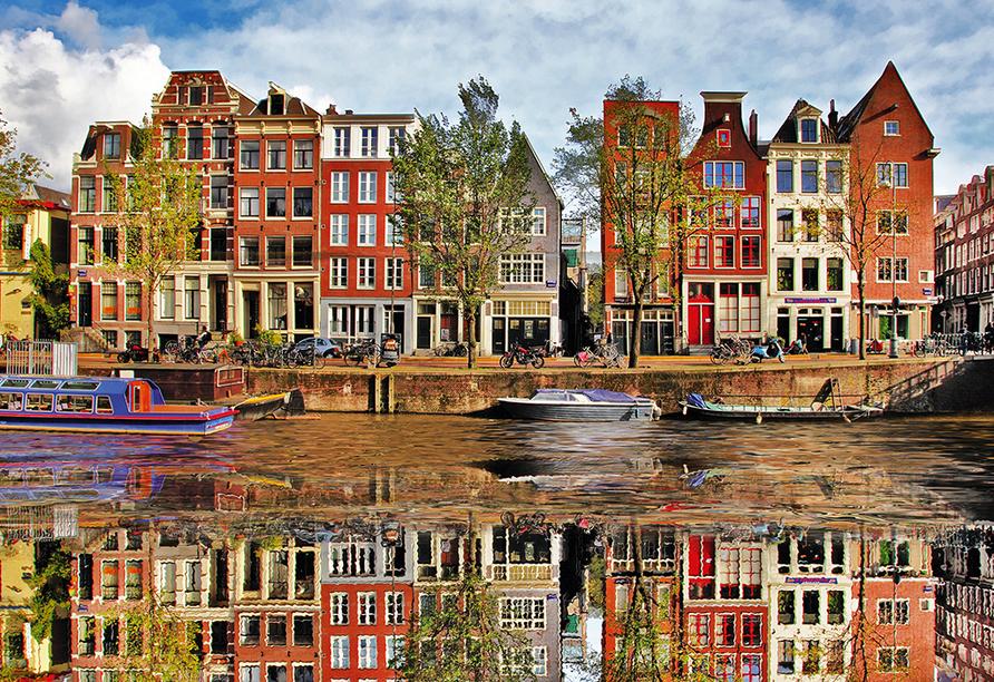 MS Normandie, Amsterdam