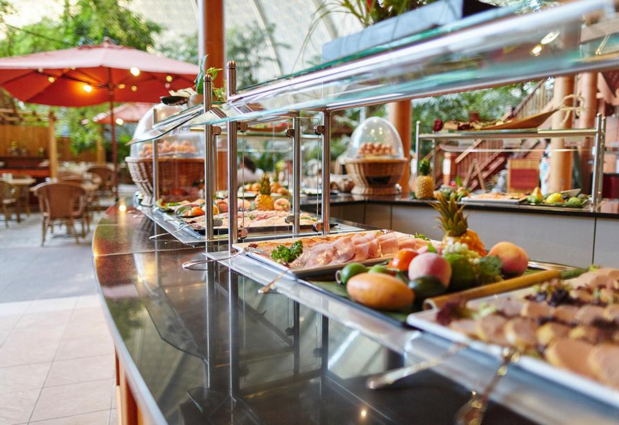 Tropical Islands Resort, Breakfast