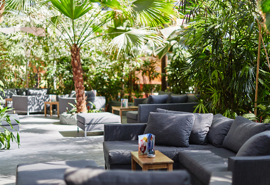 Tropical Islands Resort, Restaurant Tropical Garden
