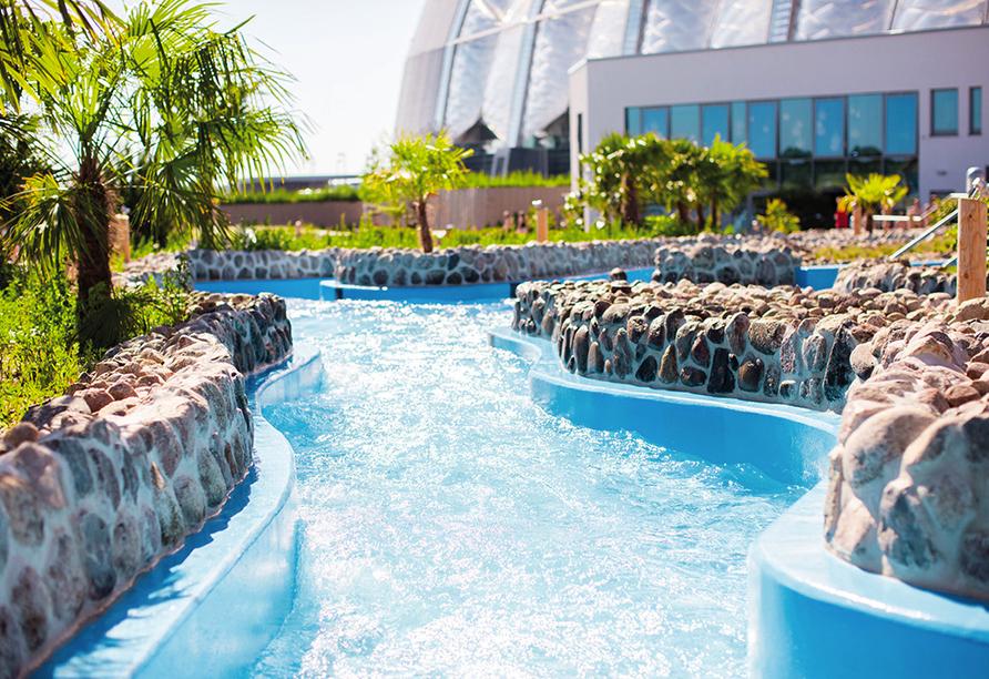 Tropical Islands Resort, Amazonia Außenansicht