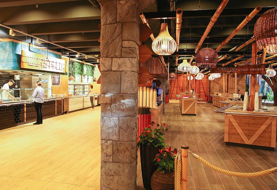 Tropical Islands Resort, Restaurant Mondial