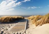 Ferienhaus Watt n Urlaub, Strand von Langeoog