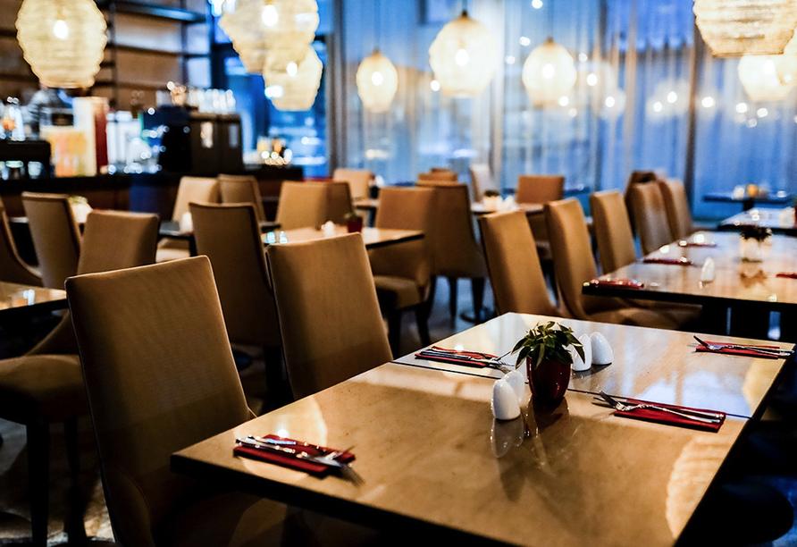 AMEDIA Hotel Linz, Frühstücksraum