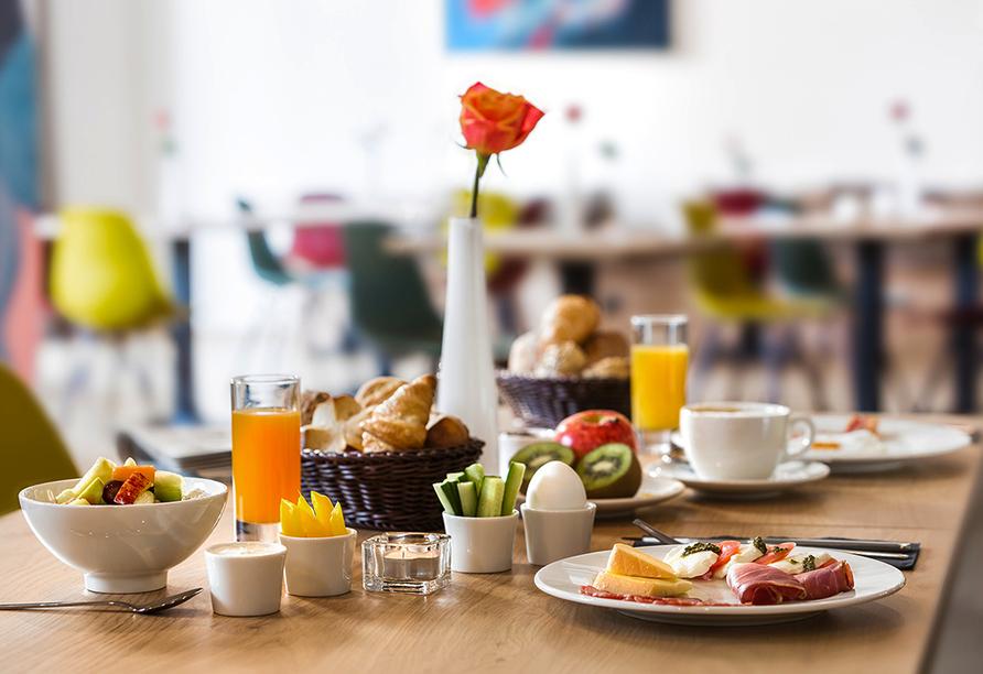 Hotel Trezor in Singen, Frühstück