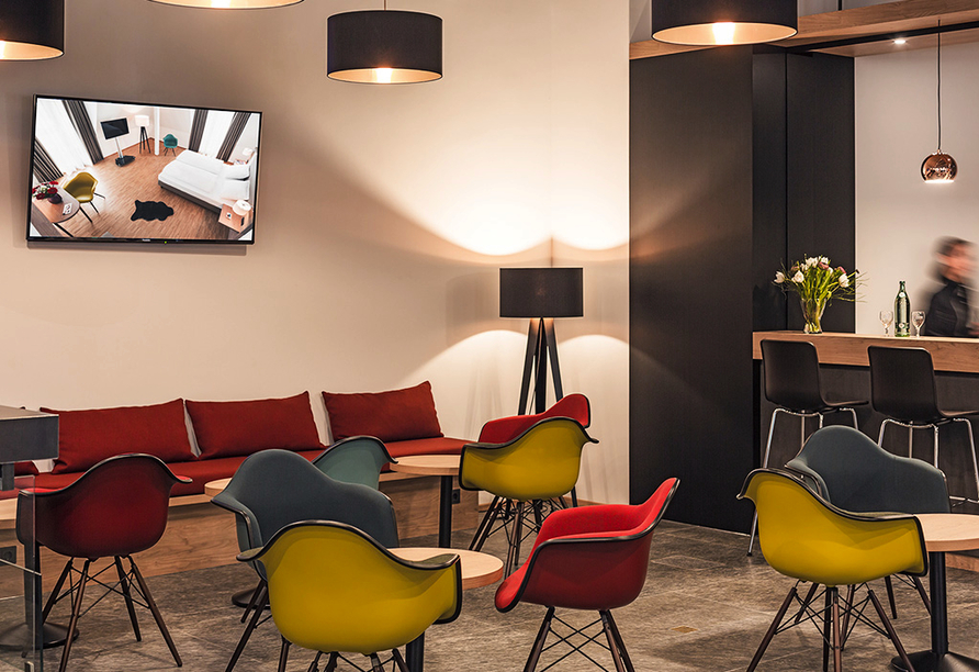 Hotel Trezor in Singen, Lounge