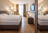Hotel Trezor in Singen, Beispiel Doppelzimmer Silber