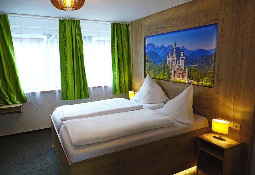 Moselhotel Burg-Café Alken, Zimmerbeispiel Doppelzimmer